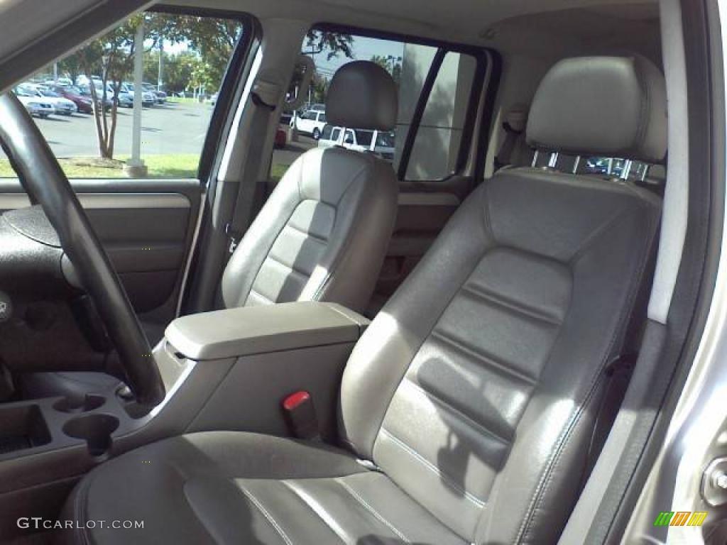 Midnight Gray Interior 2003 Ford Explorer XLT Photo #39054628