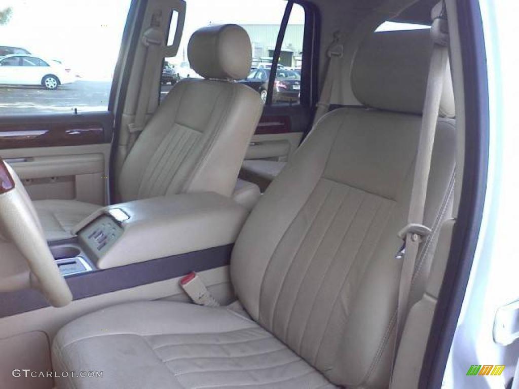 Camel Interior 2006 Lincoln Navigator Luxury 4x4 Photo 39054920