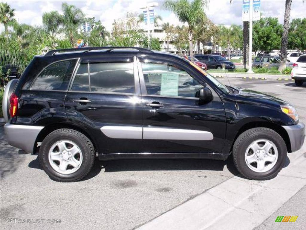 Black 2004 toyota rav4 standard rav4 model exterior photo 39055976