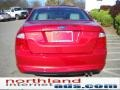 2011 Red Candy Metallic Ford Fusion SE  photo #7