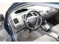 Gray 2008 Honda Civic Interiors