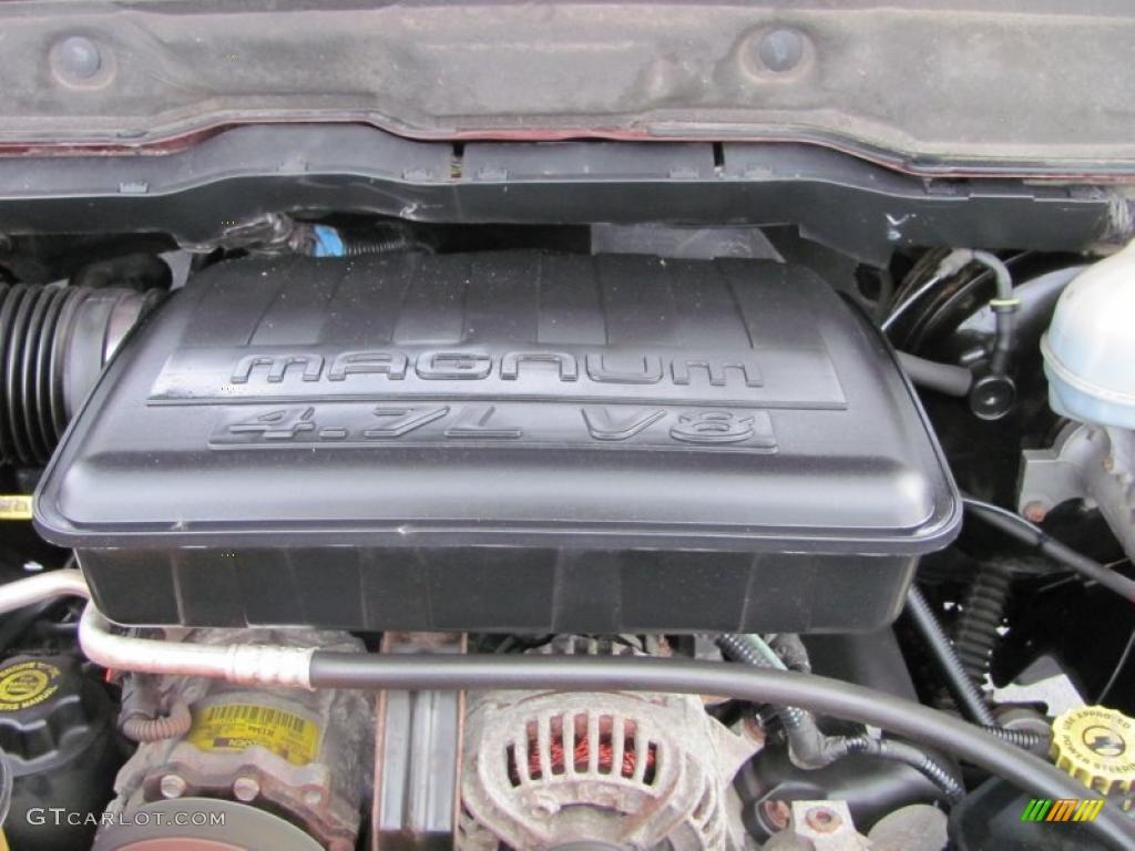 2003 Dodge Ram 1500 Slt Quad Cab 4 7 Liter Sohc 16 Valve