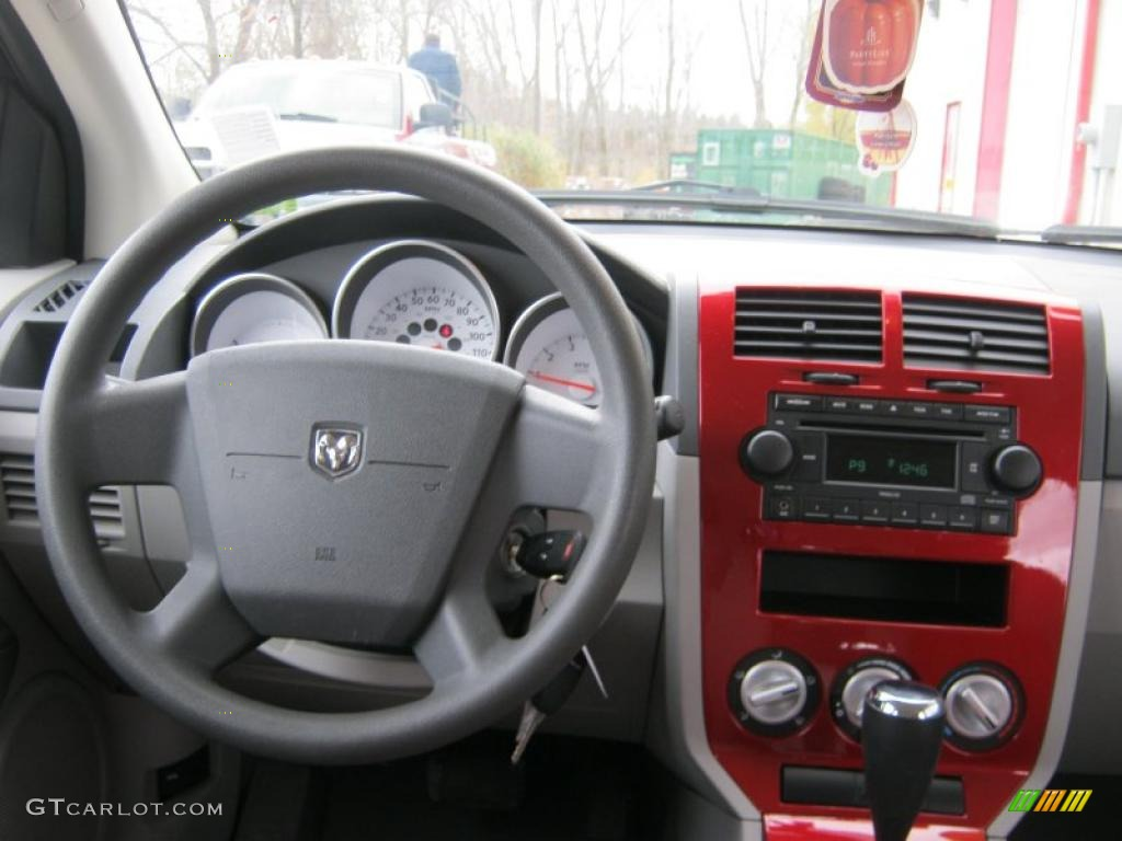 2007 Dodge Caliber Red 200 Interior And Exterior Images
