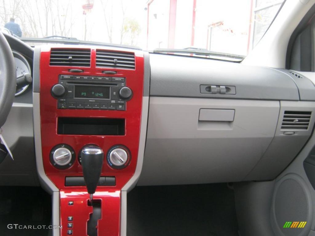 2007 dodge caliber sxt pastel slate gray/red dashboard photo