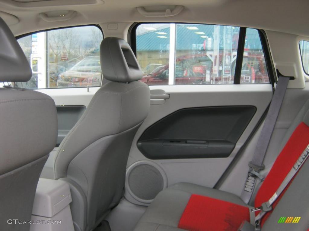 Pastel Slate Gray Red Interior 2007 Dodge Caliber Sxt Photo 39067007