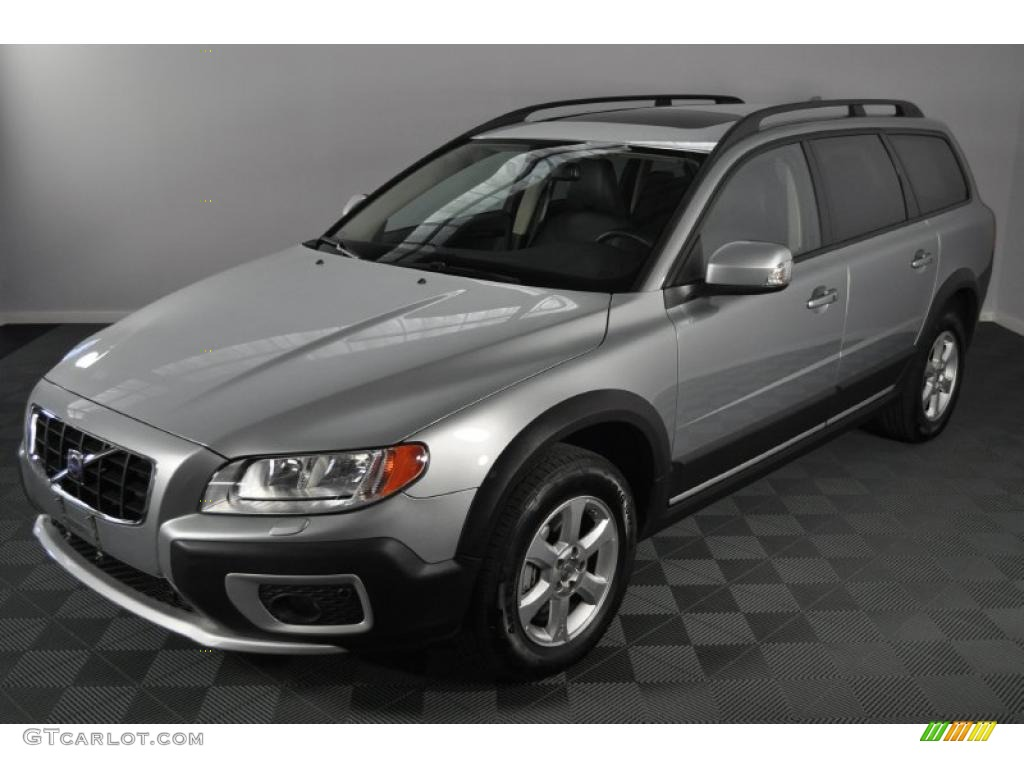 2008 electric silver metallic volvo xc70 awd 39060157 car color galleries. Black Bedroom Furniture Sets. Home Design Ideas
