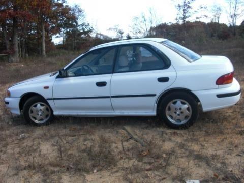 1994 Subaru Impreza L Sedan Data, Info and Specs