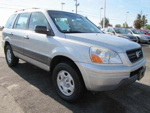 2003 Honda Pilot LX 4WD Data, Info And Specs