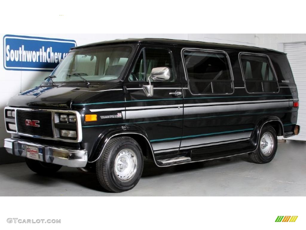 1993 black gmc vandura g25 passenger van 39059837 car color galleries. Black Bedroom Furniture Sets. Home Design Ideas
