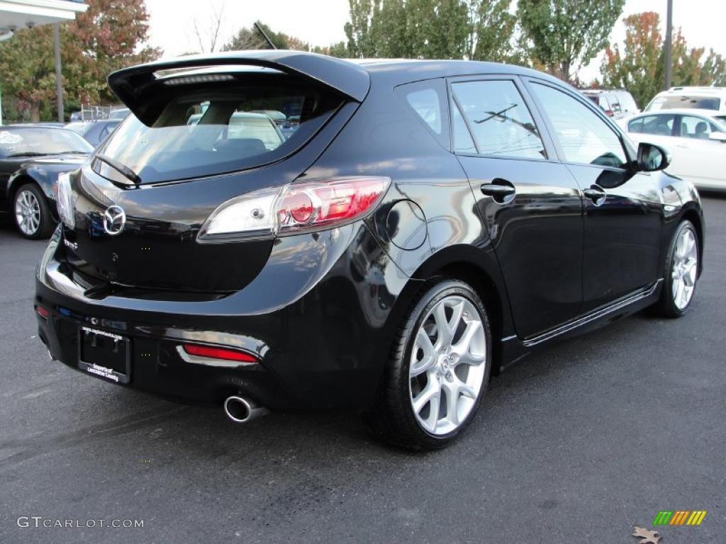 Mazdaspeed  Black Mica Paint Code