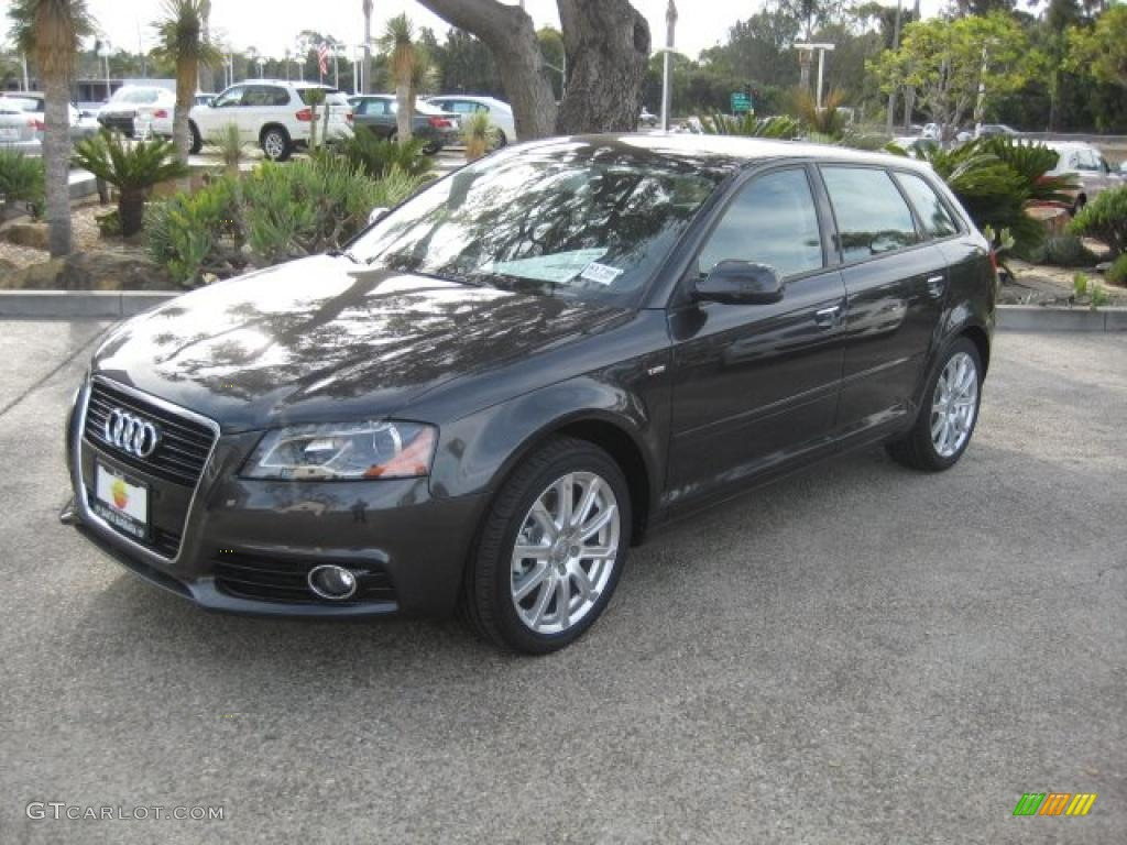 lava gray pearl effect 2011 audi a3 2 0 tfsi exterior photo 39088229. Black Bedroom Furniture Sets. Home Design Ideas