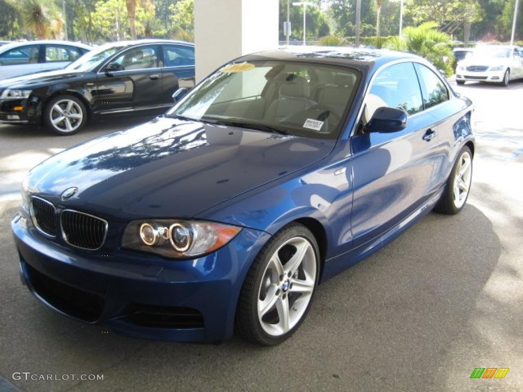 2010 Montego Blue Metallic BMW 1 Series 135i Coupe #39059343 ...