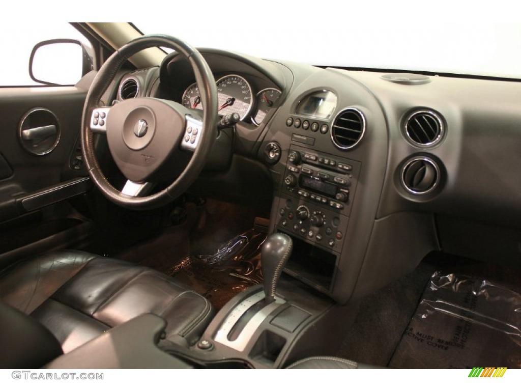 Ebony Interior 2006 Pontiac Grand Prix Gt Sedan Photo