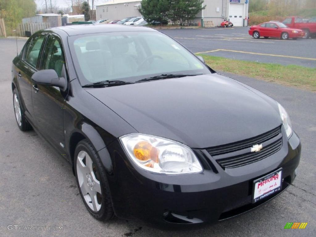 black 2006 chevrolet cobalt ss sedan exterior photo. Black Bedroom Furniture Sets. Home Design Ideas