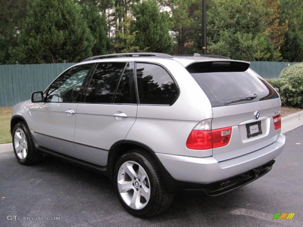 titanium silver metallic 2004 bmw x5 exterior photo 39100386. Black Bedroom Furniture Sets. Home Design Ideas