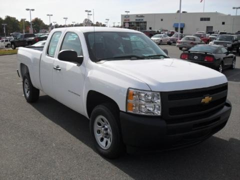 2010 Chevrolet Silverado 1500 Extended Cab Data, Info and Specs