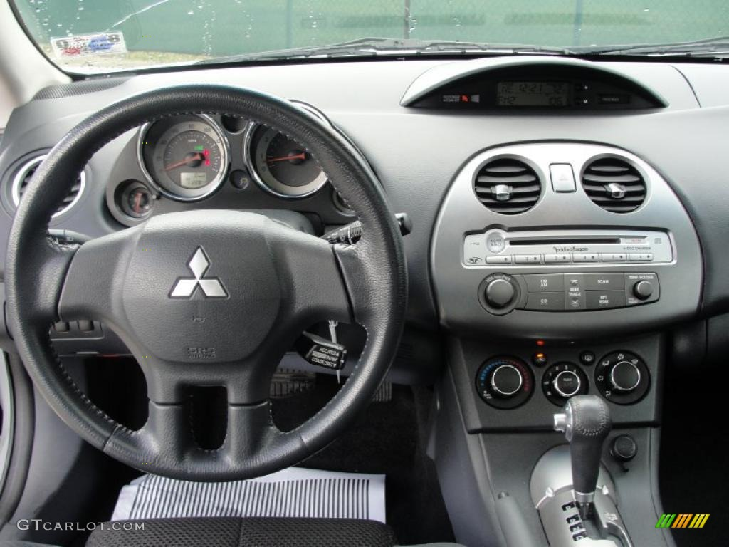 2007 Mitsubishi Eclipse Gs Coupe Dark Charcoal Dashboard Photo 39108773 Gtcarlot Com