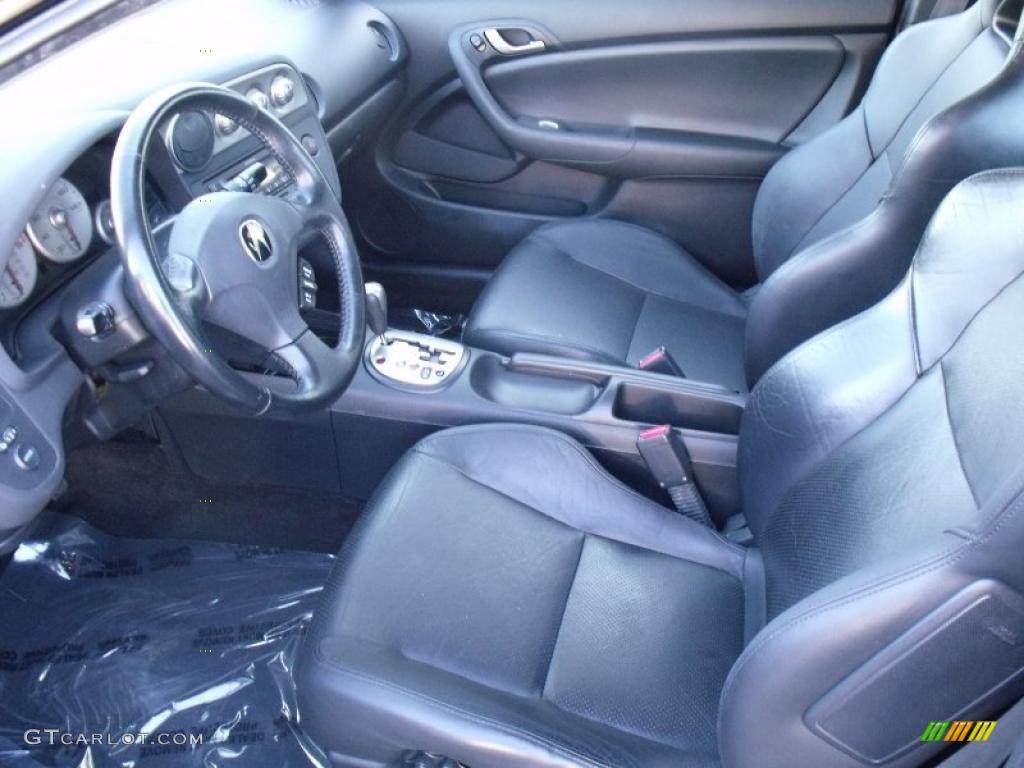 Ebony Interior 2004 Acura RSX Sports Coupe Photo #39109809 ...