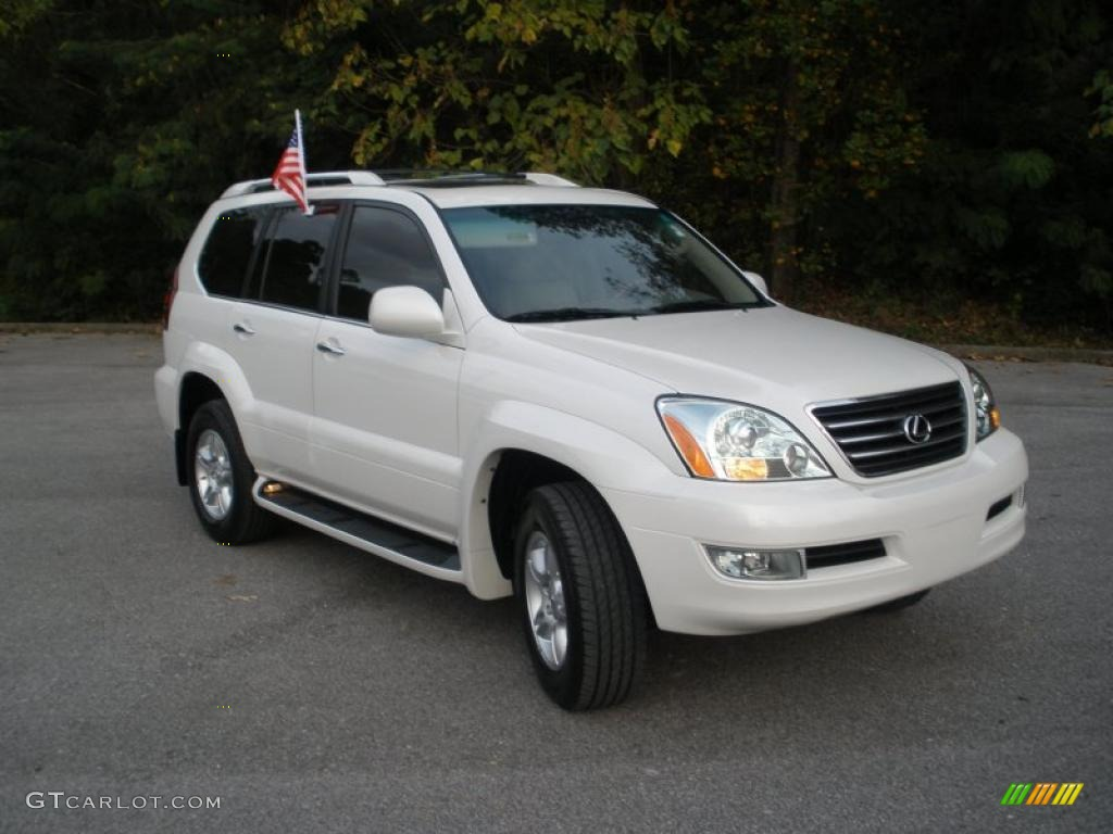 Blizzard White Pearl 2008 Lexus Gx 470 Exterior Photo