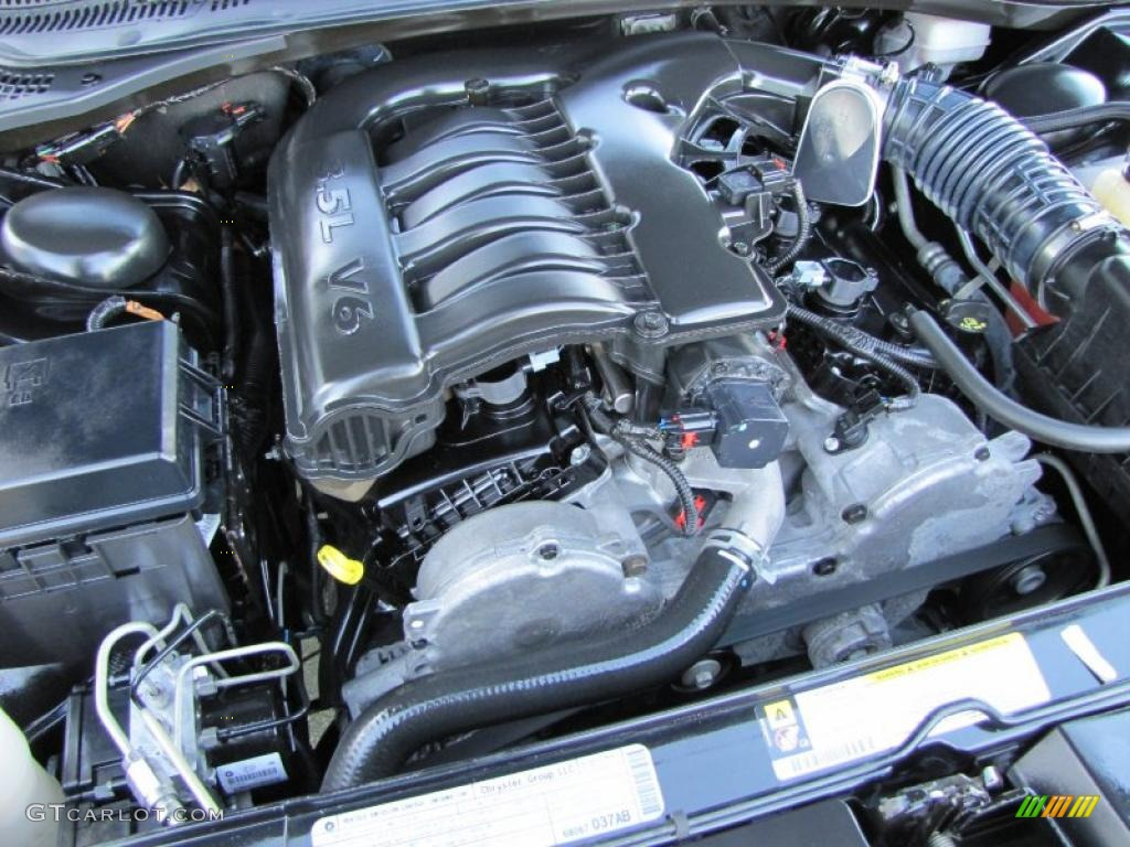 2010 Dodge Charger SXT 35 Liter HighOutput SOHC 24Valve V6