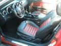2007 Torch Red Ford Mustang Shelby GT500 Convertible  photo #13