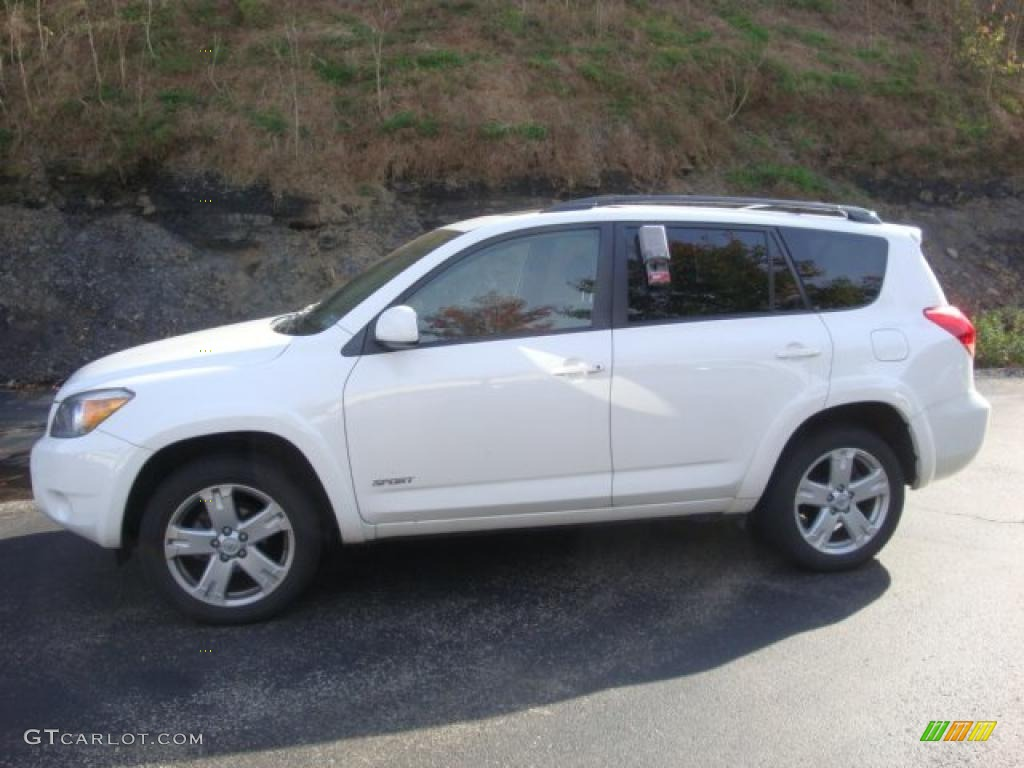 2007 super white toyota rav4 sport 39060312 gtcarlot. Black Bedroom Furniture Sets. Home Design Ideas