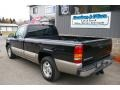 2002 Onyx Black Chevrolet Silverado 1500 LS Regular Cab  photo #7