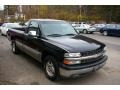 2002 Onyx Black Chevrolet Silverado 1500 LS Regular Cab  photo #10
