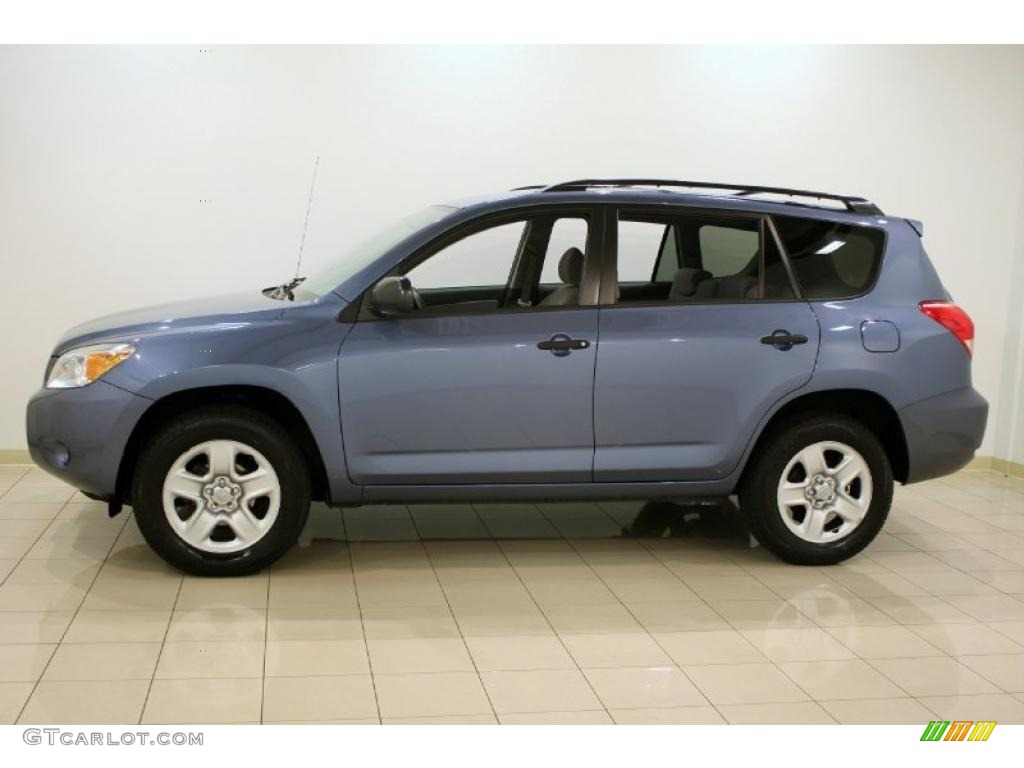 pacific blue metallic 2007 toyota rav4 4wd exterior photo 39132291. Black Bedroom Furniture Sets. Home Design Ideas