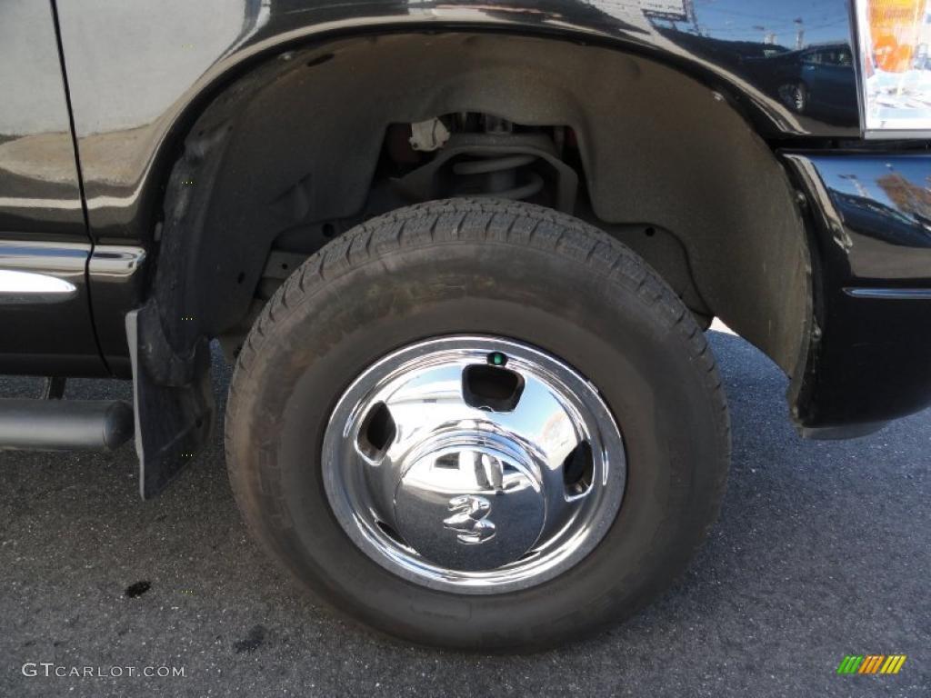 2007 Dodge Ram 3500 Laramie Quad Cab 4x4 Dually Wheel Photo #39133763