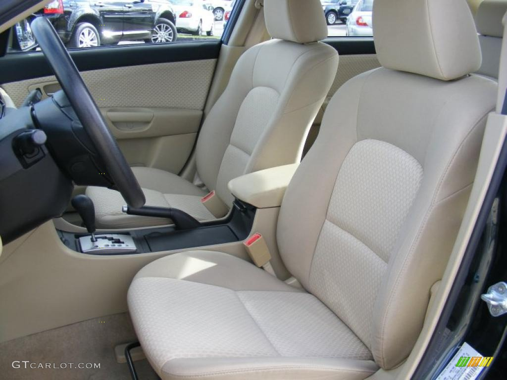 beige interior 2004 mazda mazda3 i sedan photo 39137714. Black Bedroom Furniture Sets. Home Design Ideas
