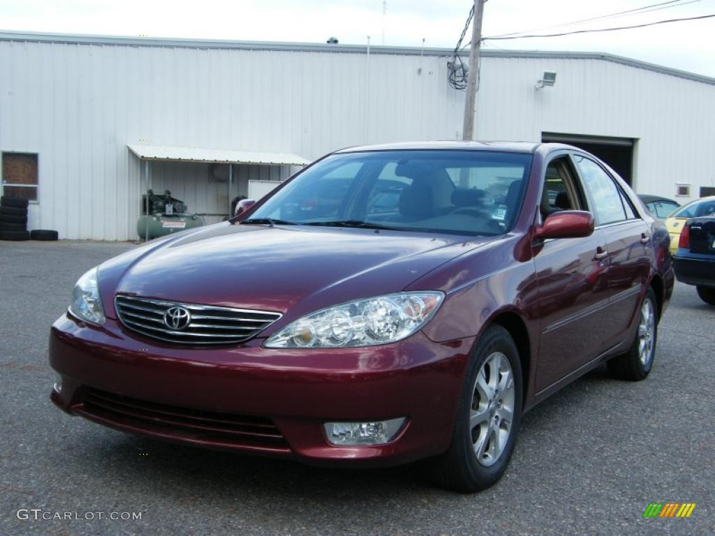 salsa red pearl 2005 toyota camry xle v6 exterior photo 39140830. Black Bedroom Furniture Sets. Home Design Ideas