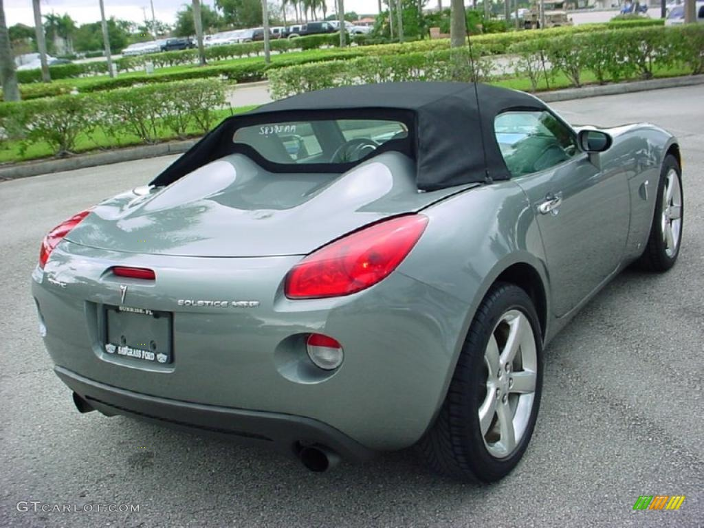 Sly Gray 2007 Pontiac Solstice Gxp Roadster Exterior Photo