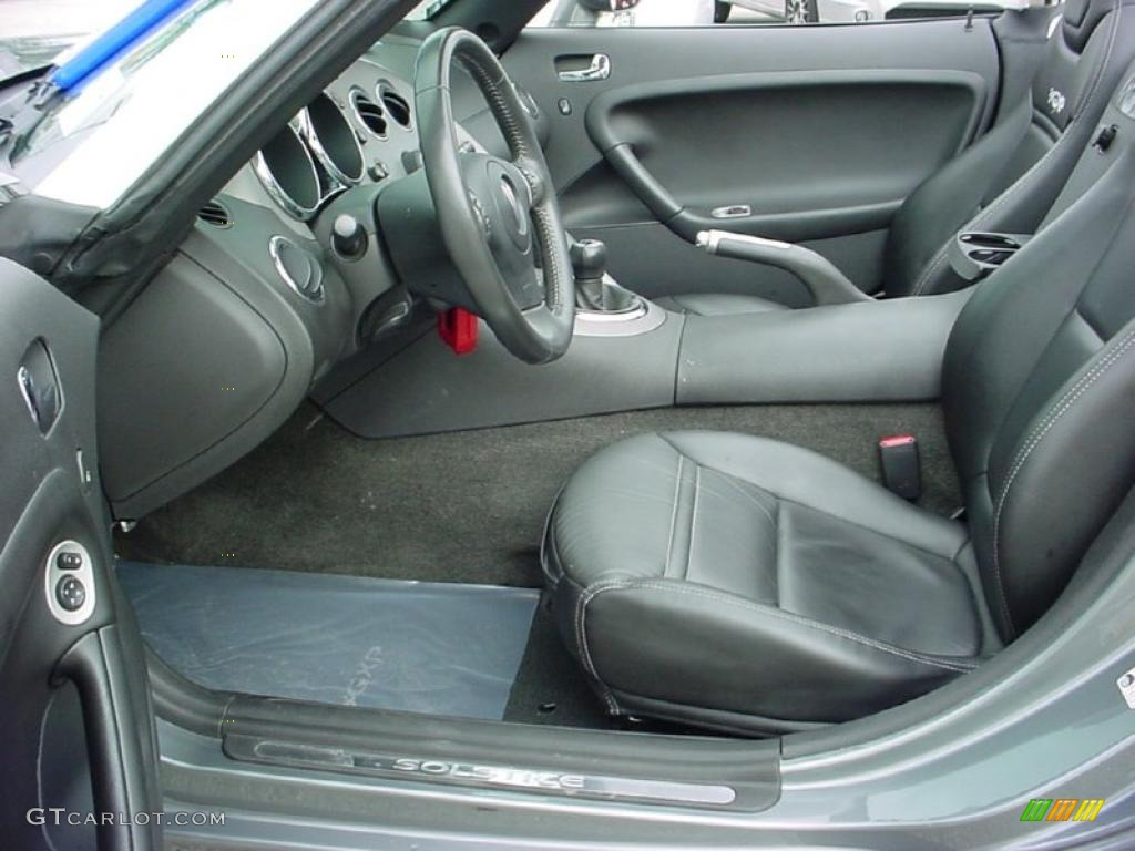 Ebony Interior 2007 Pontiac Solstice Gxp Roadster Photo 39141398
