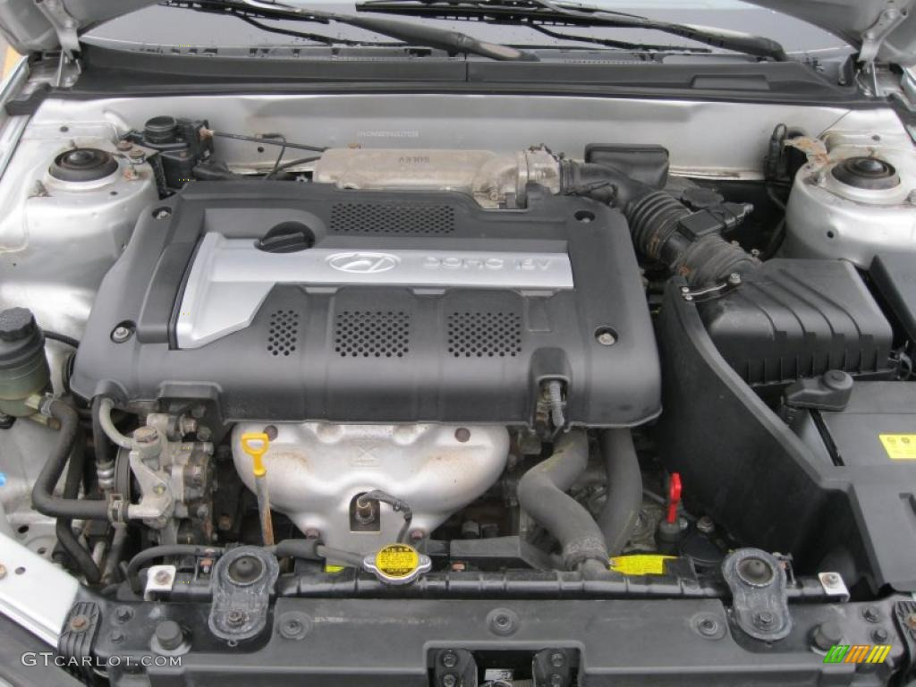 2004 Hyundai Elantra Gt Hatchback 2 0 Liter Dohc 16 Valve 4 Cylinder Engine Photo 39143566