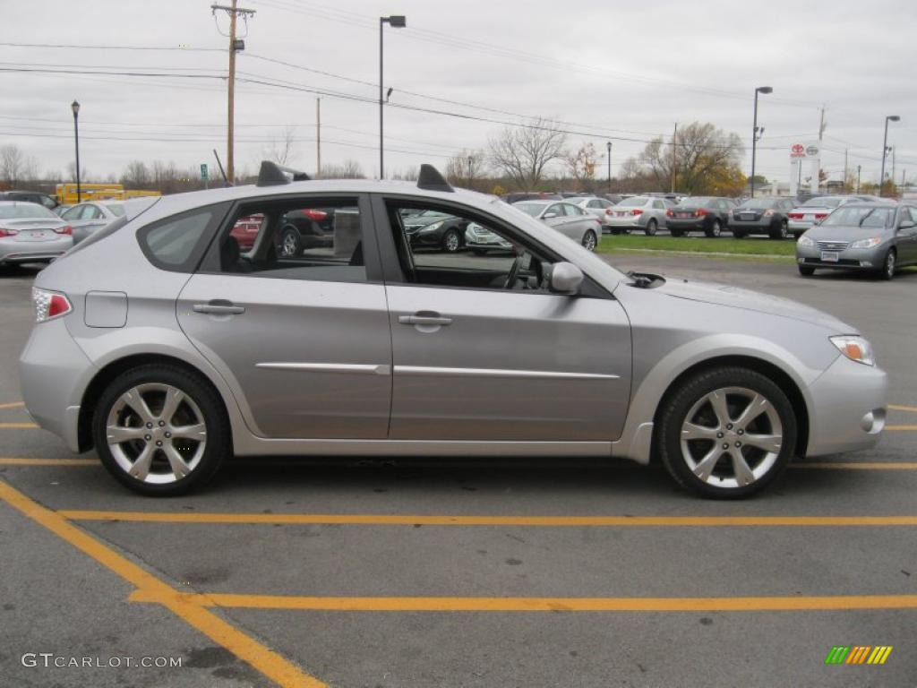 Steel Silver Metallic 2008 Subaru Impreza Outback Sport Wagon Exterior Photo 39144554