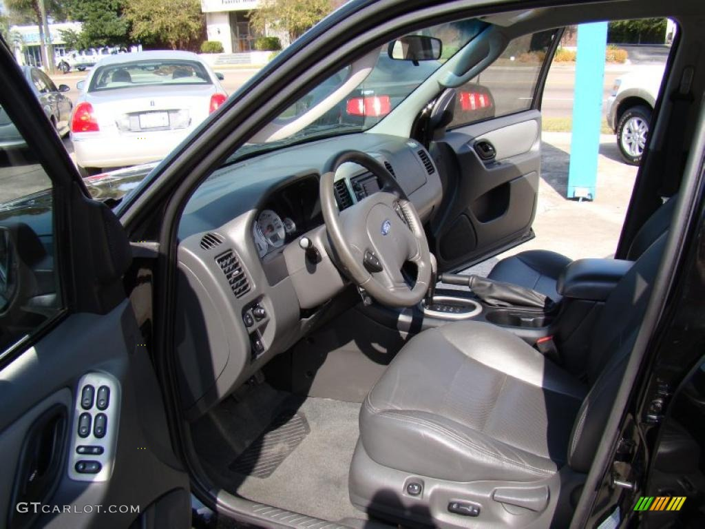 Ebony Interior 2007 Ford Escape Hybrid Photo 39152965