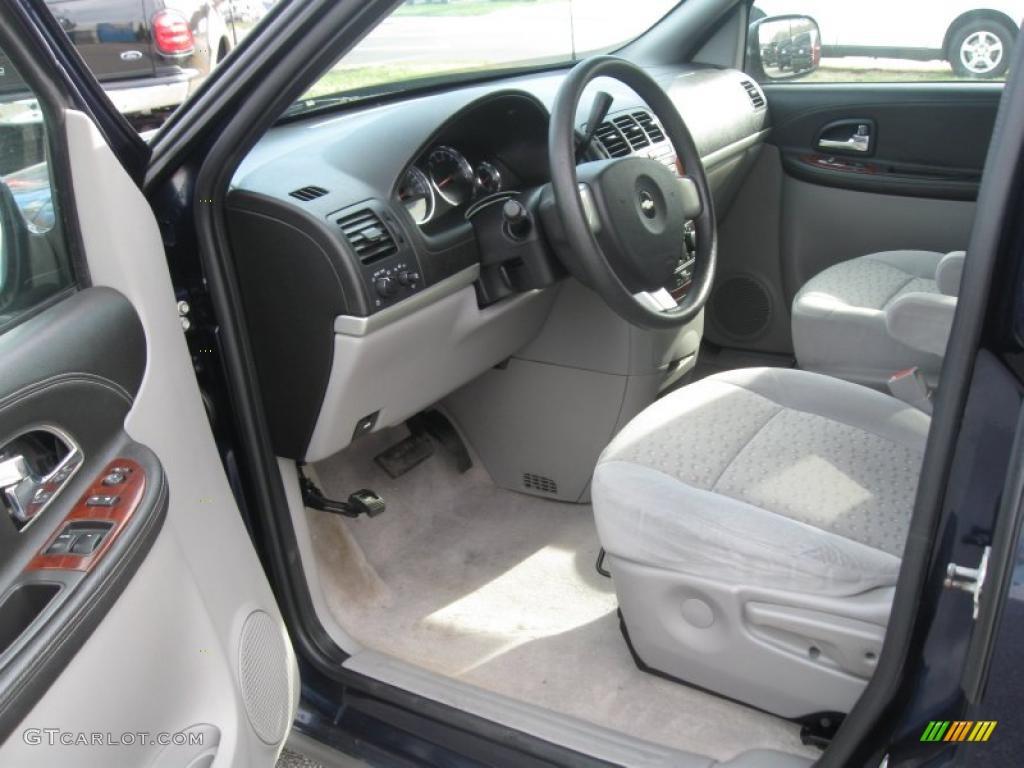 Medium Gray Interior 2005 Chevrolet Uplander Standard Uplander Model Photo 39154597