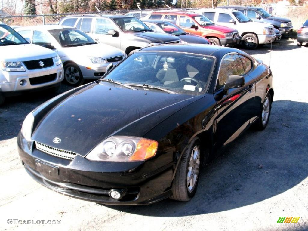 2004 jet black hyundai tiburon 39148880 gtcarlot com car color galleries gtcarlot com
