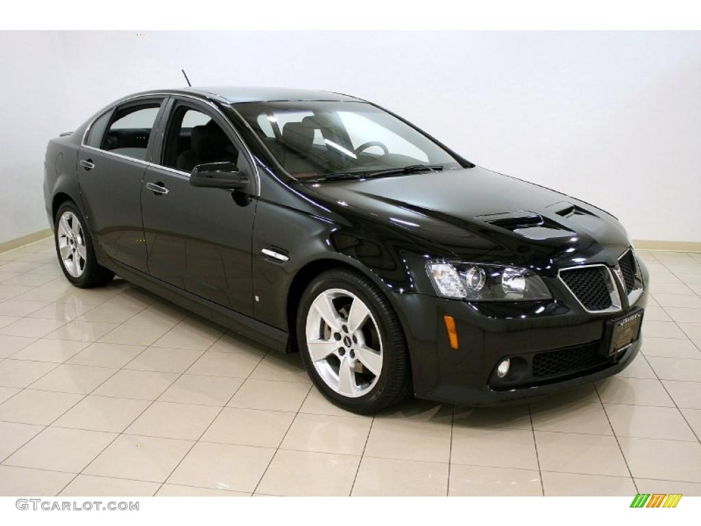 Panther Black Metallic 2008 Pontiac G8 Gt Exterior Photo
