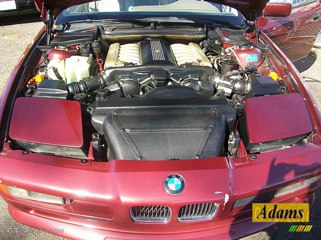 1992 BMW 8 Series 850i 50 Liter SOHC 24 Valve V12 Engine Photo 39163710