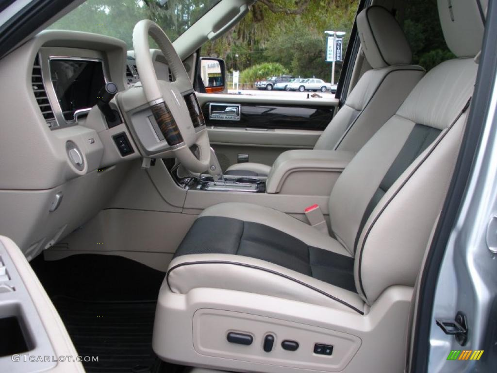 limited stone charcoal interior 2010 lincoln navigator. Black Bedroom Furniture Sets. Home Design Ideas