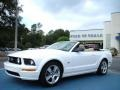 2007 Performance White Ford Mustang GT Premium Convertible  photo #9
