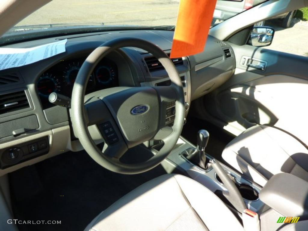 medium light stone interior 2011 ford fusion s photo 39170774. Black Bedroom Furniture Sets. Home Design Ideas
