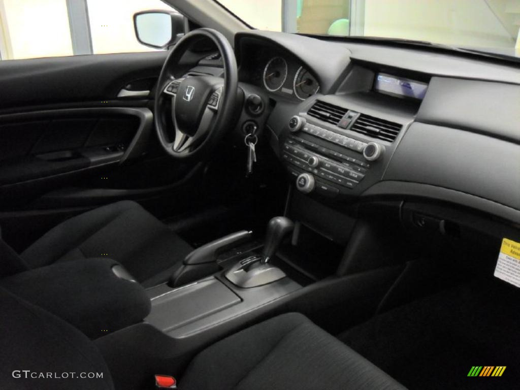 2011 Honda Accord Lx S Coupe Black Dashboard Photo