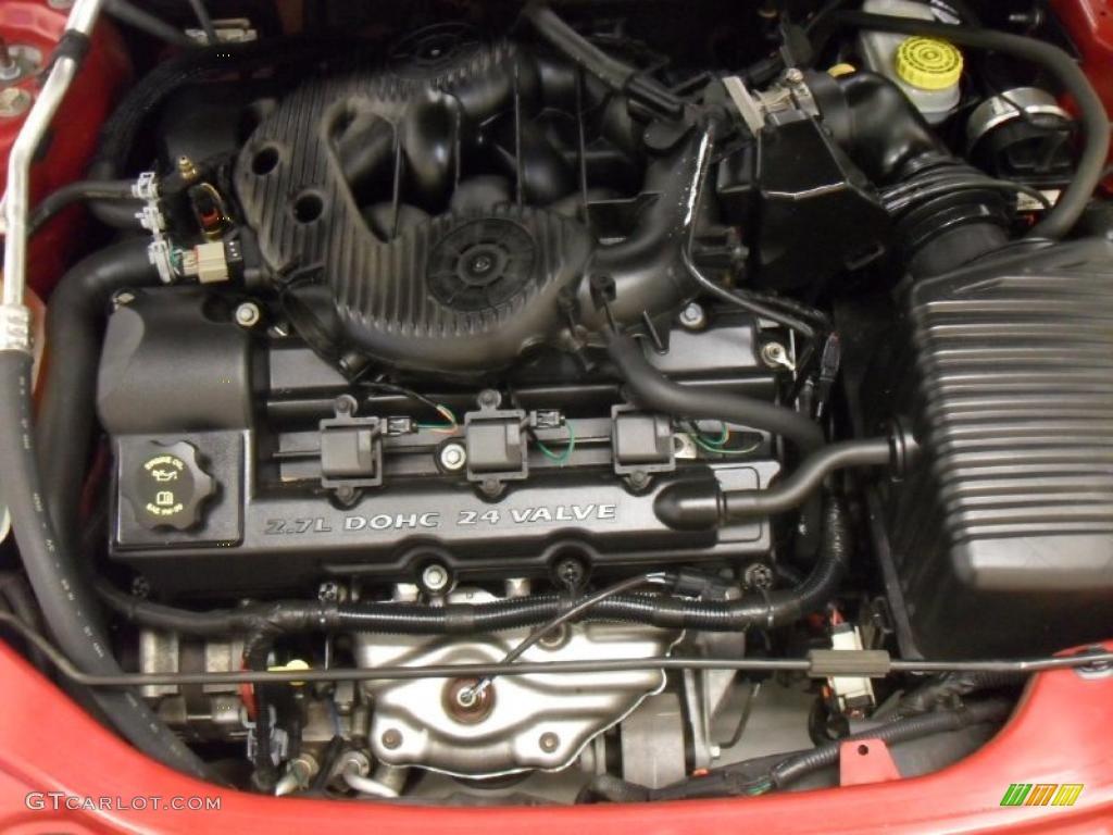 2005 Dodge Stratus SXT Sedan 2.7 Liter DOHC 24-Valve V6 ...