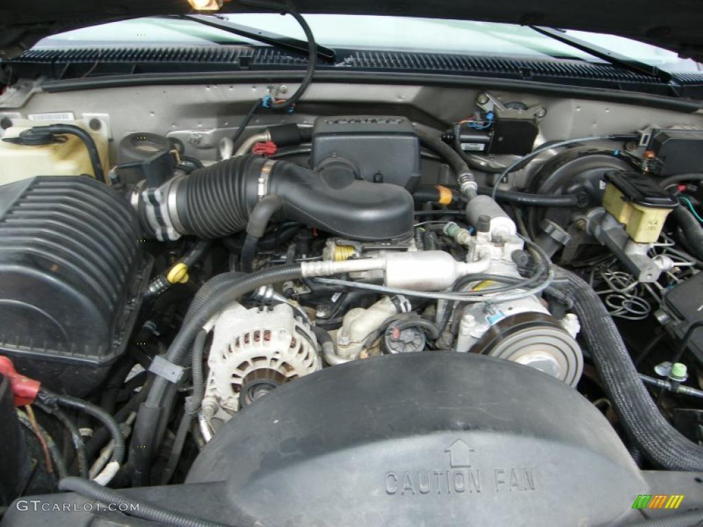 1999 Chevrolet Tahoe LS 5.7 Liter OHV 16-Valve V8 Engine ...