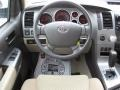 Sand Beige Steering Wheel Photo for 2011 Toyota Tundra #39182247