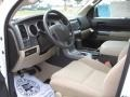 Sand Beige Prime Interior Photo for 2011 Toyota Tundra #39182279