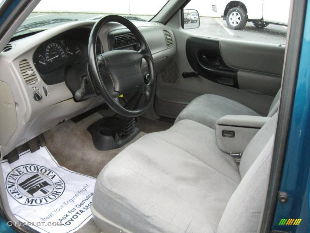 Medium Graphite Interior 1997 Ford Ranger Xl Extended Cab Photo